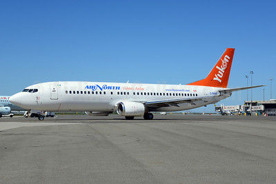 Air North-Yukon's Airline (Canada) Boeing 737-48E C-FANB (msn 25764) YVR (Ton Jochems). Image: 912512.