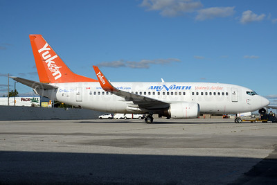 Air North-Yukon's Airline (Canada) Boeing 737-505 WL C-GANH (msn 27153) YYZ (TMK Photography). Image: 935114.