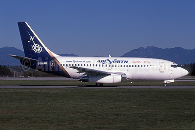Air North-Yukon's Airline (Canada) Boeing 737-201 C-GNAU (msn 21817) (Royal Airlines colors) YVR (Rob Rindt). Image: 924336.