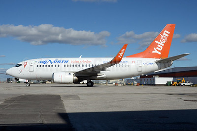 Air North-Yukon's Airline (Canada) Boeing 737-505 WL C-GANH (msn 27153) YYZ (TMK Photography). Image: 935115.