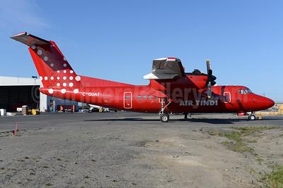 Air Tindi Dash 7 in Air Greenland colors
