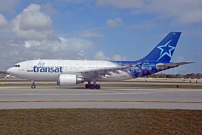 Air Transat Airbus A310-308 C-GFAT (msn 545) FLL (Bruce Drum). Image: 100600.