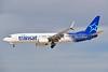 Air Transat Boeing 737-8Q8 SSWL C-GTQC (msn 29368) (Split Scimitar Winglets) LAS (Eddie Maloney). Image: 925041.