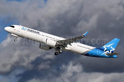 Air Transat Airbus A321-271NX WL C-GOIF (msn 8876) LGW (Richard Vandervord). Image: 954944.