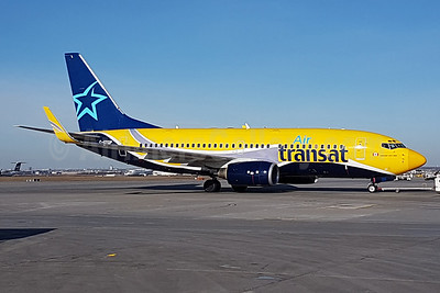 Air Transat (Europe Airpost) Boeing 737-73S WL C-GTQP (msn 29081) (Europe Airpost-Air Transat hybrid livery) YYZ (TMK Photography). Image: 937019.