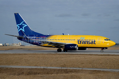 Air Transat (Europe Airpost) Boeing 737-73S WL C-GTQP (msn 29081) (Europe Airpost-Air Transat hybrid livery) YYZ (TMK Photography). Image: 927086.