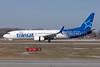 Air Transat Boeing 737-8Q8 SSWL C-GTQC (msn 29368) (Split Scimitar Winglets) YHM (TMK Photography). Image: 926852.