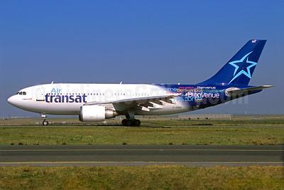 Air Transat Airbus A310-308 C-GSAT (msn 600) CDG (Jacques Guillem). Image: 936469.