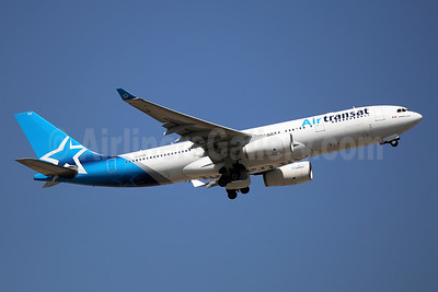 Air Transat Airbus A330-243 C-GTSN (msn 369) LGW (Keith Burton). Image: 944215.