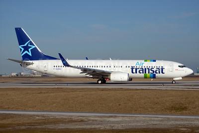 Hybrid Air Transat - Transavia livery