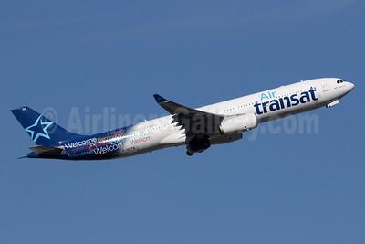 Air Transat Airbus A330-342 C-GCTS (msn 177) LGW (SPA). Image: 936471.