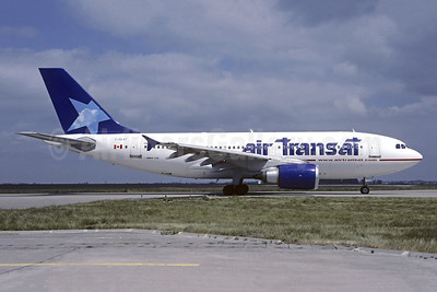 Air Transat Airbus A310-308 C-GLAT (msn 588) CDG (Pepscl). Image: 946217.