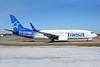 Air Transat Boeing 737-8Q8 SSWL C-GTQC (msn 29368) (Split Scimitar Winglets) YHM (TMK Photography). Image: 926937.