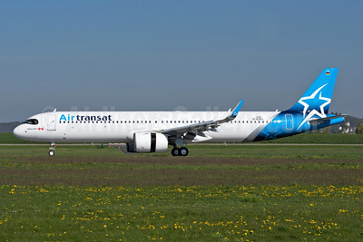 First Airbus A321neo, delivered as C-GOIE on May 3, 2019