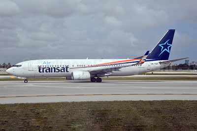Air Transat (SmartWings) Boeing 737-8GQ WL OK-TSO (msn 35793) (SmartWings colors) FLL (Bruce Drum). Image: 104601.
