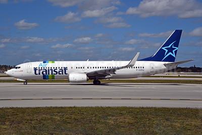 Air Transat (Transavia France) Boeing 737-86J WL F-GZHJ (msn 37778) (hybrid livery) FLL (Bruce Drum). Image: 104570.