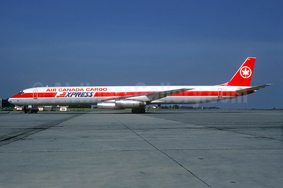Air Canada Cargo Express McDonnell Douglas DC-8-63 (F) C-FTIU (msn 46113) BRU (Christian Volpati Collection). Image: 933891.