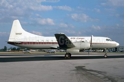 BTA Cargo Convair 440-72 (C-131E) N41527 (C-FPUM) (msn 346) OPF (Bruce Drum). Image: 105405.