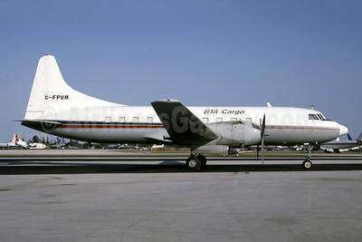 BTA Cargo Convair 440-72 (C-131E) C-FPUM (msn 346) OPF (Bruce Drum). Image: 105404.