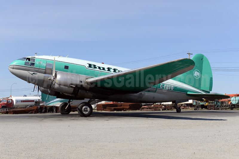 Buffalo Airways (Canada) Curtiss C-46D-10-CU Commando C-FAVO (msn 33242) YZF (Ton Jochems). Image: 928348.