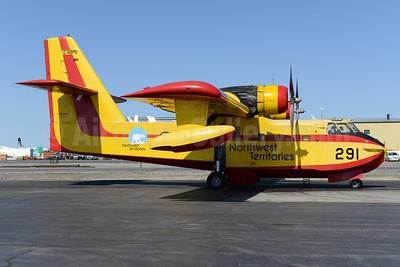 Northwest Territories (Buffalo Airways) Canadair CL-215-1A10 C-GBPD (msn 1084) YZF (Ton Jochems). Image: 928355.
