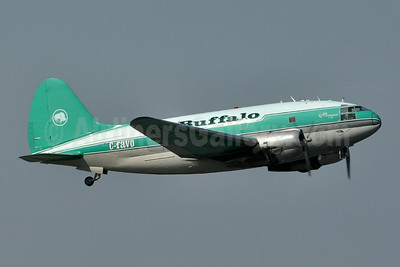 Buffalo Airways (Canada) Curtiss C-46D-10-CU Commando C-FAVO (msn 33242) YZF (Tony Storck). Image: 923889.
