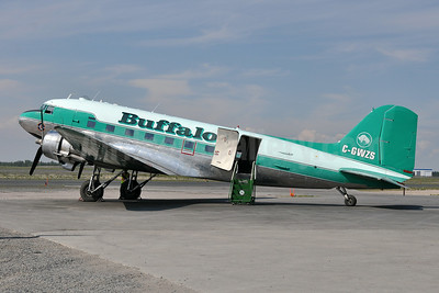 Buffalo Airways (Canada) Douglas C-47A-DK (DC-3C) C-GWZS (msn 12327) YZF (Tony Storck). Image: 923891.