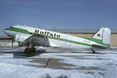 Buffalo Airways (Canada) Douglas C-47A-DK (DC-3) C-GRTM (msn 12931) YYC (Christian Volpati Collection). Image: 936873.