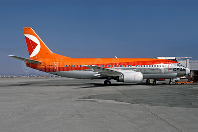 CP Air Boeing 737-317 C-FCPG (msn 23173) YUL (Pierre Langlois - Rob Rindt Collection). Image: 950378.