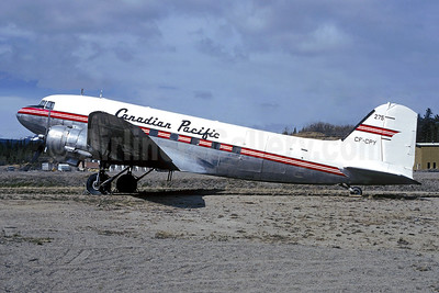 Canadian Pacific Air Lines Douglas C-47-DL (DC-3) CF-CPY (msn 4666) YZF (Christian Volpati Collection). Image: 950737.