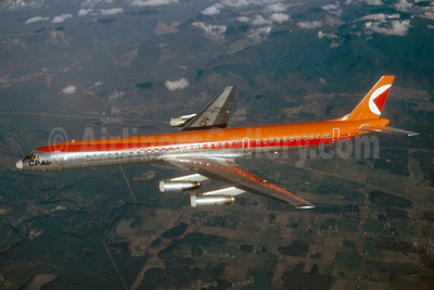 CP Air McDonnell Douglas DC-8-63 CF-CPP (msn 45927) (Stephen Tornblom Collection). Image: 921222.