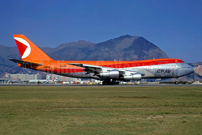 CP Air Boeing 747-217B C-FCRA (msn 20801) HKG (Jacques Guillem Collection). Image: 925970.