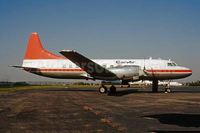 CanAir Convair 580 C-GGWH (msn 465) (Air Ontario colors) YYZ (Keith Burton). Image: 946970.