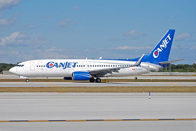 CanJet Airlines (2nd) Boeing 737-81Q WL C-FXGG (msn 29051) FLL (Bruce Drum). Image: 102280.