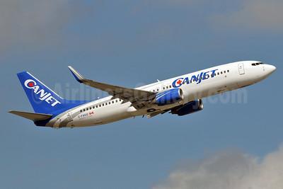 CanJet Airlines (2nd) Boeing 737-81Q WL C-FXGG (msn 29051) FLL (Ken Petersen). Image: 911612.