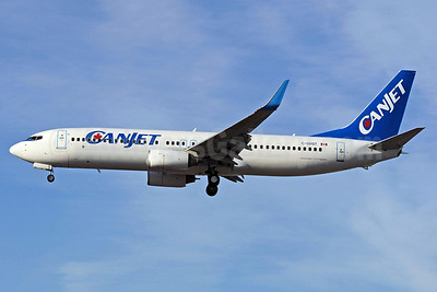 CanJet Airlines (2nd) Boeing 737-8Q8 WL C-GDGT (msn 30724) YYZ (Reinhard Zinabold). Image: 905793.