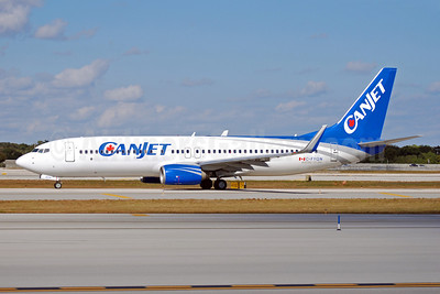 CanJet Airlines (2nd) Boeing 737-8AS WL C-FYQN (msn 29933) FLL (Bruce Drum). Image: 102279.