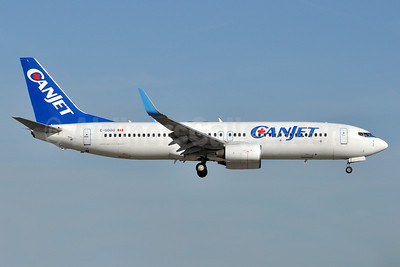 CanJet Airlines (2nd) Boeing 737-8FH WL C-GDGQ (msn 35093) FLL (Tony Storck). Image: 910769.