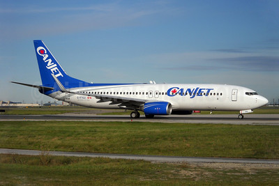 CanJet Airlines (2nd) Boeing 737-8AS WL C-FTCZ (msn 29923) YYZ (TMK Photography). Image: 907908.