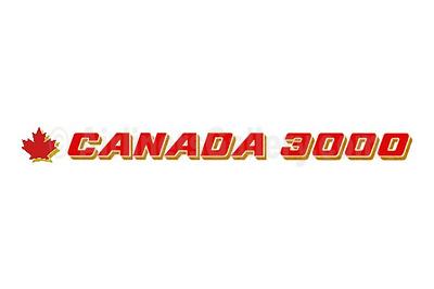 1. Canada 3000 Airlines logo