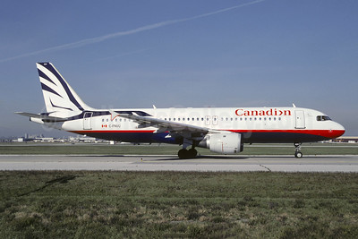 Canadian Airlines International Airbus A320-211 C-FNVU (msn 403) YYZ (TMK Photography). Image: 951382.