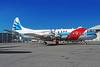 Canadian Airlines International-Canada Lockheed 188C Electra C-GNDZ (msn 1111) (Nordair colors) YUL (Pierre Langlois). Image: 920952.
