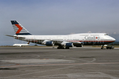 Canadian Airlines International Boeing 747-475 C-GMWW (msn 24883) YVR (Rob Rindt). Image: 936102.