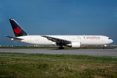 Canadian Airlines International Boeing 767-375 ER C-FCAF (msn 24084) (Air Canada colors) YYZ (TMK Photography). Image: 920260.