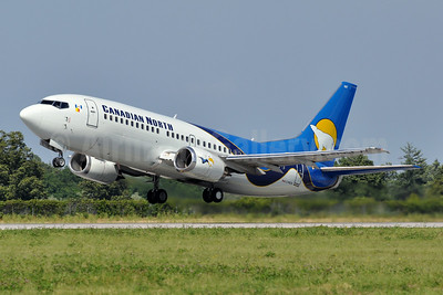 Canadian North Boeing 737-36N C-FKCN (msn 28573) YHM (Tony Storck). Image: 923842.