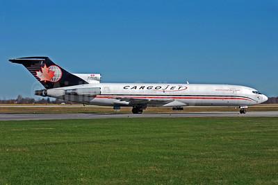 Cargojet Airways Boeing 727-260 (F) C-FCJU (msn 22759) YHM (Reinhard Zinabold). Image: 905846.