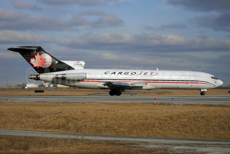 Cargojet Airways Boeing 727-260 (F) C-FCJU (msn 22759) YYZ (TMK Photography). Image: 911346.
