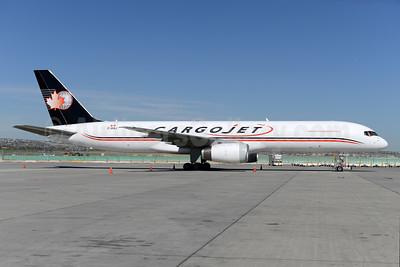 Cargojet Airways Boeing 757-28A (F) C-GIAJ (msn 23767) YYC (Ton Jochems). Image: 928275.