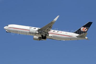 Cargojet Airways Boeing 767-39H ER WL C-FGSJ (msn 26256) LAX (Ron Monroe). Image: 947384.