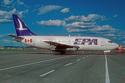 EPA (Eastern Provincial Airways) Boeing 737-2E1 C-FEPO (msn 20300) YUL (Pierre Langlois). Image: 920366.